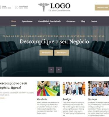 Modelo Classic - Site Contábil da Contabilit